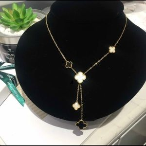 Clover Double Sided Necklace